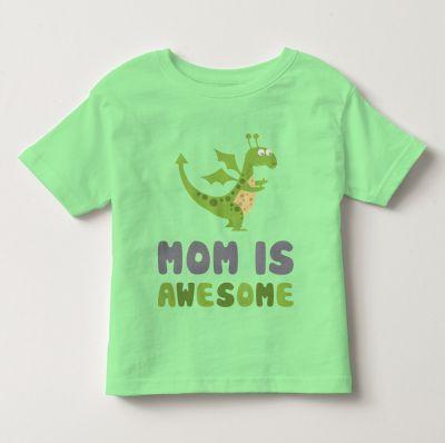 """Áo thun tay ngắn trẻ em kidstyle màu xanh ngọc in chữ """"Mom is Awesome"""" // Chất liệu thun cotton 100% cao cấp, màu rất đẹp // Đủ size từ 1 - 12 tuổi cho bé lựa chọn // Xem chi tiết GIÁ SỐC tại website kidstyle.com.vn ** Công ty thời trang trẻ em KidStyle ** Địa chỉ: 206/40 Đồng Đen, Phường 14, Quận Tân Bình, Tp. Hồ Chí Minh ** SĐT: 0909 145 138"""
