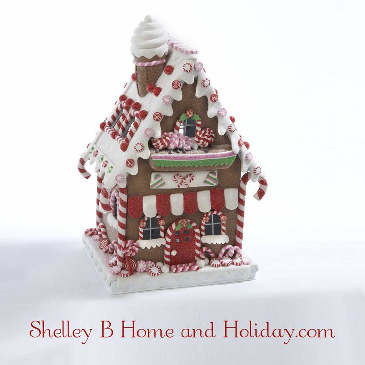 Shop for more claydough gingerbread, peppermint and candy Christmas decorations at Shelley B Home and Holiday