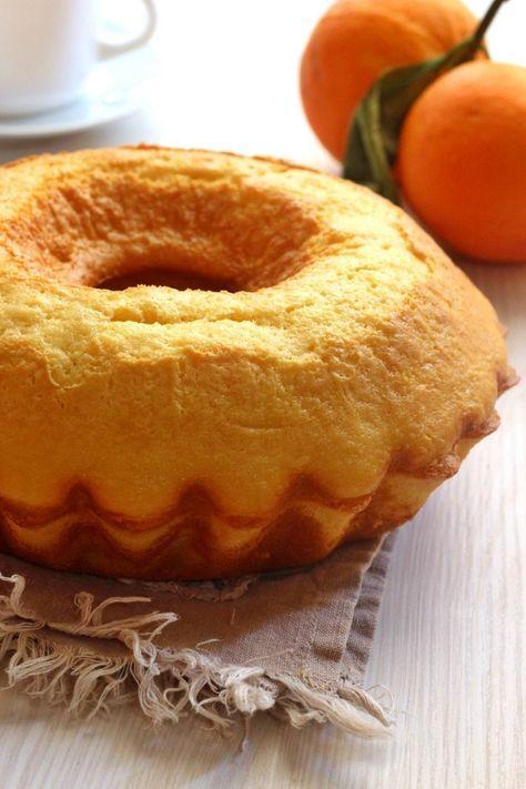Ciambellone 5 minuti all'arancia soffice e profumatissimo ricetta senza sbattitore
