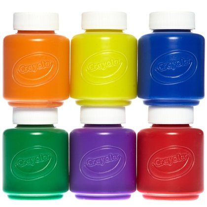 7 best images about arts crafts on pinterest crayola for Arts and craft paint