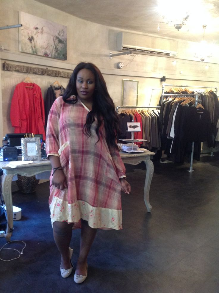 Magnolia Pearl in our Oxford Shop | Bridgit Smock Dress in Apple Festival Plaid | www.oliviamay.org