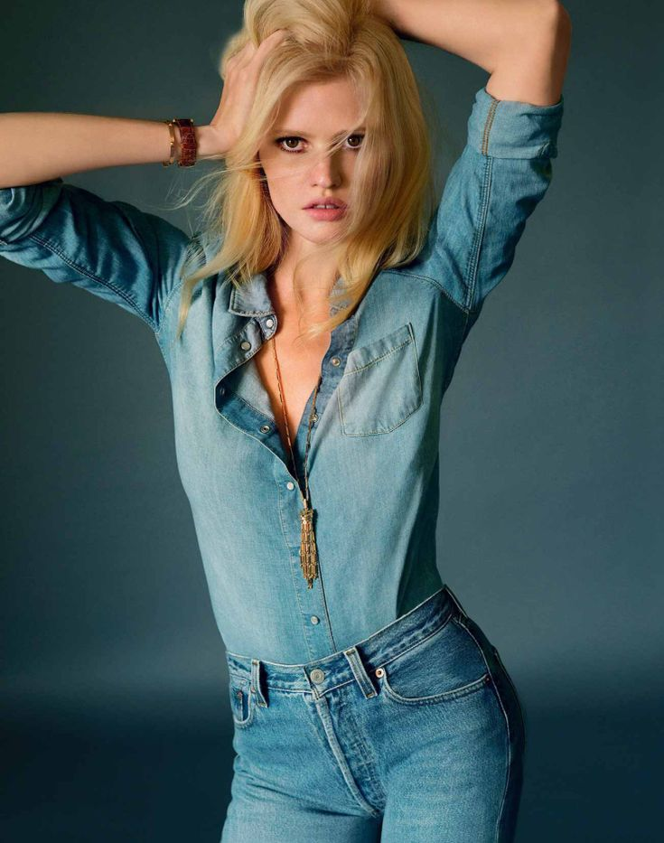 Lara Stone By Elina Kechicheva For Marie Claire France May 2015 (11)