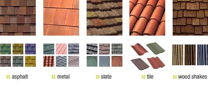 types of roofing materials - Google Search