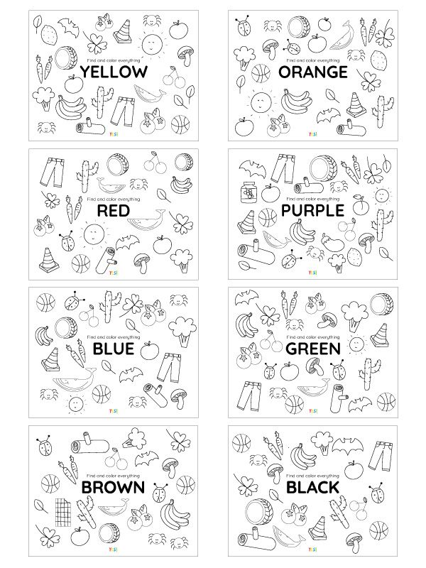 Printable Coloring Pages Of Colors Yes We Made This Printable Coloring Pages Printable Coloring Coloring Pages