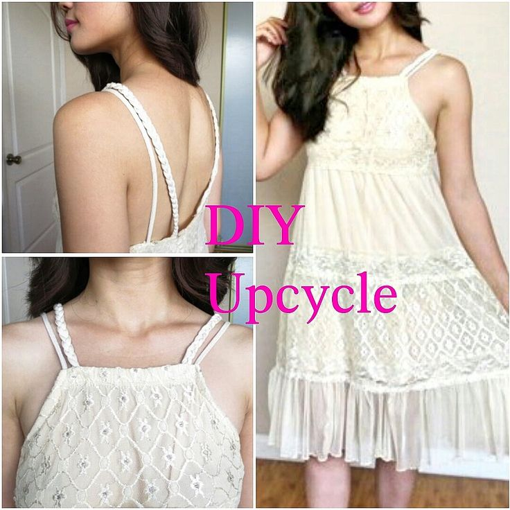 """DIY: """"Free People"""" inspire baby doll dress (Upcycle)"""