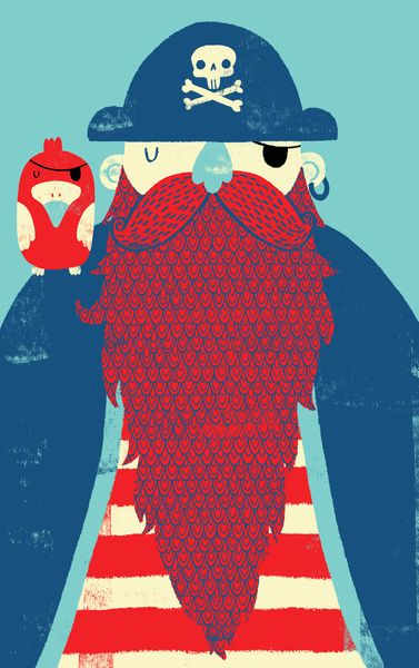 Old Captain Redbeard  by Monster Riot