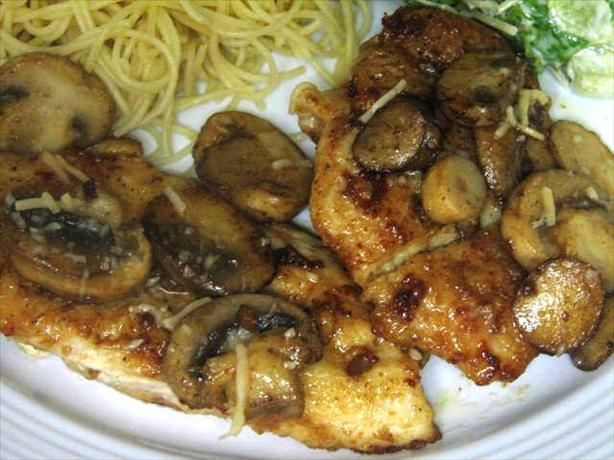 Romano s Macaroni Grill Chicken Marsala from Food.com: My favorite meal is Chicken Marsala from the Macaroni Grill. This is a copycat recipe