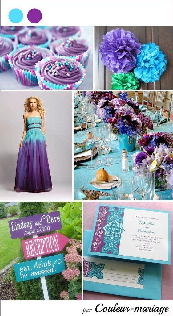 17 meilleures id es propos de mariage bleu violet sur. Black Bedroom Furniture Sets. Home Design Ideas