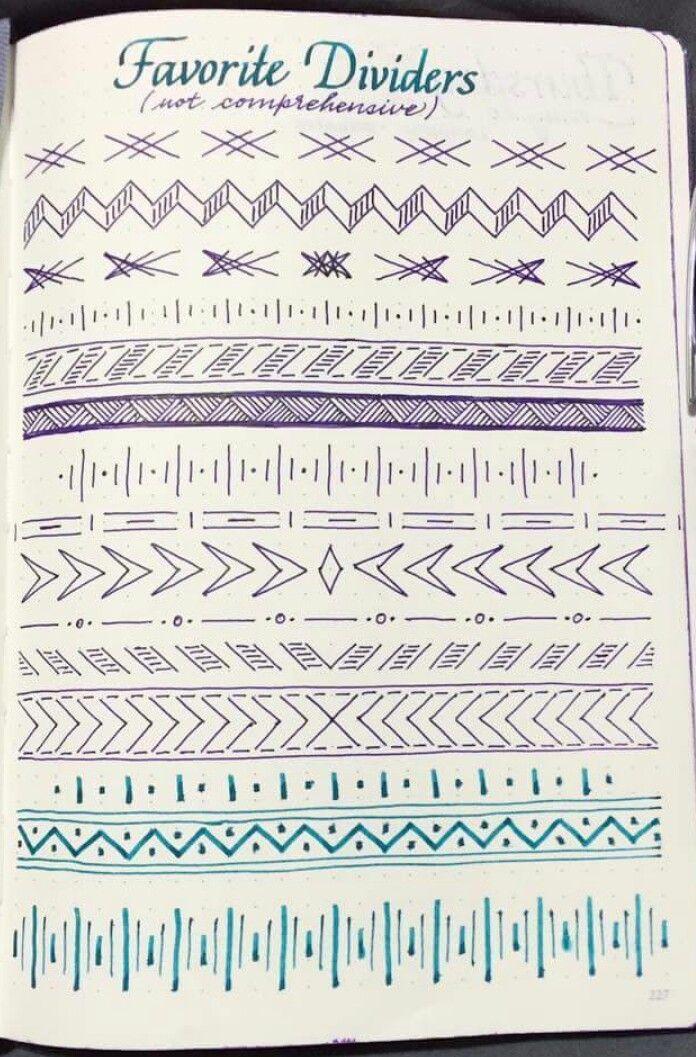 Variedad de líneas