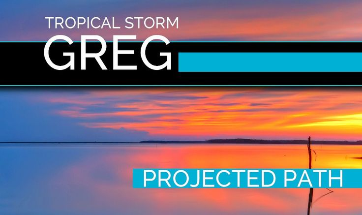 Hurricane Greg Projected Path: National Hurricane Center