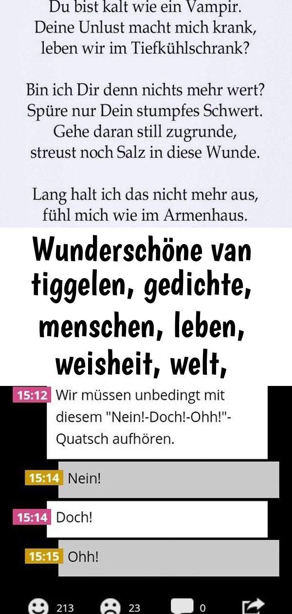Wunderschone Van Tiggelen Gedichte Menschen Leben Weisheit