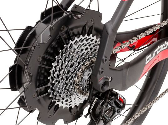 Specialized, the Turbo, electric bikes, has the ability to reach a top speed of 28 mph (45 kph), the 342Wh capacity lithium ion battery can recharge in just two hours. e-bikes, regenerative brakes, bicycling, bicyclists, lithium ion battery.