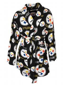 Pittsburgh Steelers Women's Highlight Robe - Official Online Store