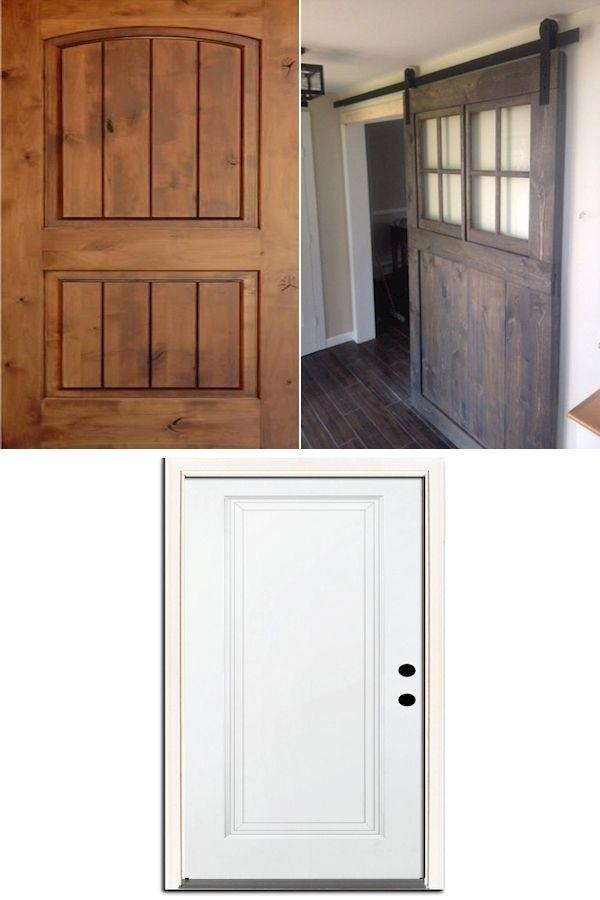 Hollow Core Interior Doors One Panel Interior Door 4 Foot Wide Interior Door In 2020 Houten Deur Design Barnwood