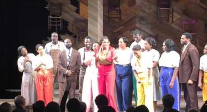 The Cast Of 'The Color Purple' Sings 'Purple Rain' In A Beautiful Tribute To Prince