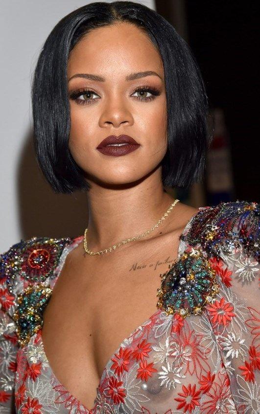 Rihanna haircut 2017 - http://trend-hairstyles.ru/746.html  #Hairstyles #Haircuts #promhairstyles #Hair
