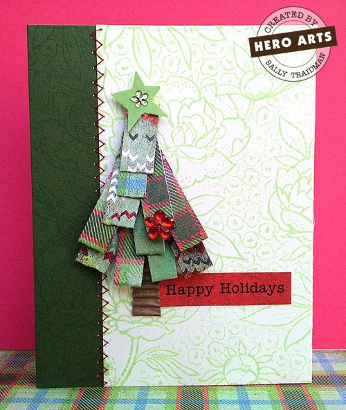 this is an adorable scrappy tree!