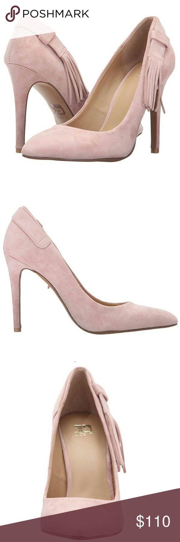 "Joe's catlin dress pumps Beautiful and chic pink tassel pumps, soft suede upper, heel approx 4"", brand new. joe's Shoes Heels"