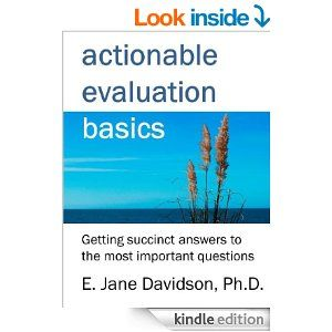 Jane Davidson's ebook with sections on reporting: Actionable Evaluation Basics: Getting succinct answers to the most important questions