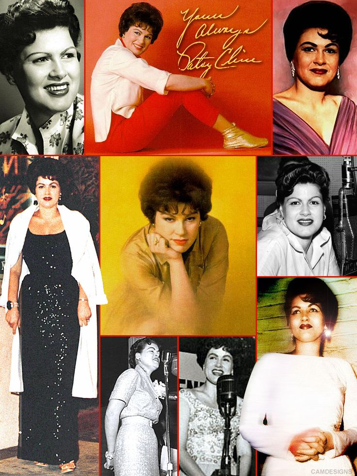 """Patsy Cline (Sept. 8, 1932 – March 5, 1963), born Virginia Patterson Hensley, was an American country music singer as part of the early 1960s Nashville sound. Cline successfully """"crossed over"""" to pop music. At age 30, she died at the height of her career in a private plane crash. She was one of the most influential, successful and acclaimed female vocalists of the 20th century. Ten years after her death, she became the first female solo artist inducted to the Country Music Hall of Fame in…"""
