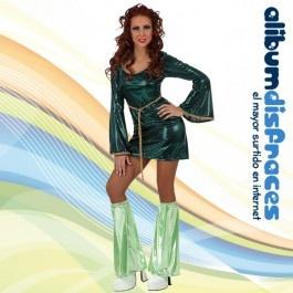 Disfraz de Chica Disco Verde - €14.40