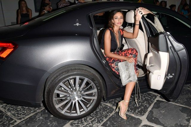 Actress Madalina Ghenea attends Day 6 of the Maserati At Ischia Global Fest on July 17, 2014 in Ischia, Italy.