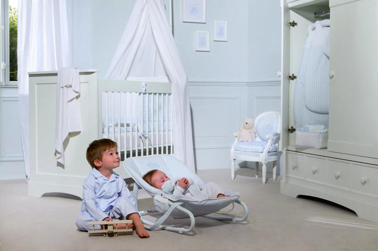 Little boys in a Garda bedroom  #Tartineetchocolat #garda #kids #bedroom #blue #babyboy
