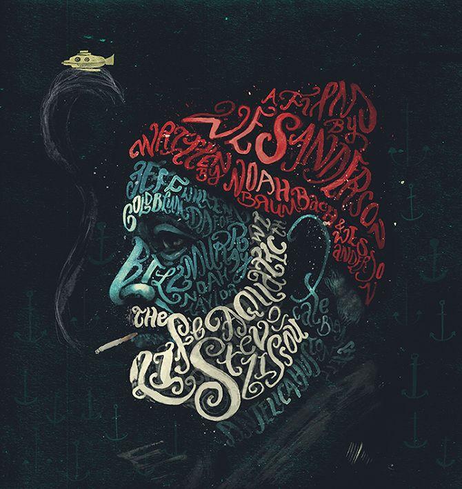 Los retratos tipográficos de Peter Strain