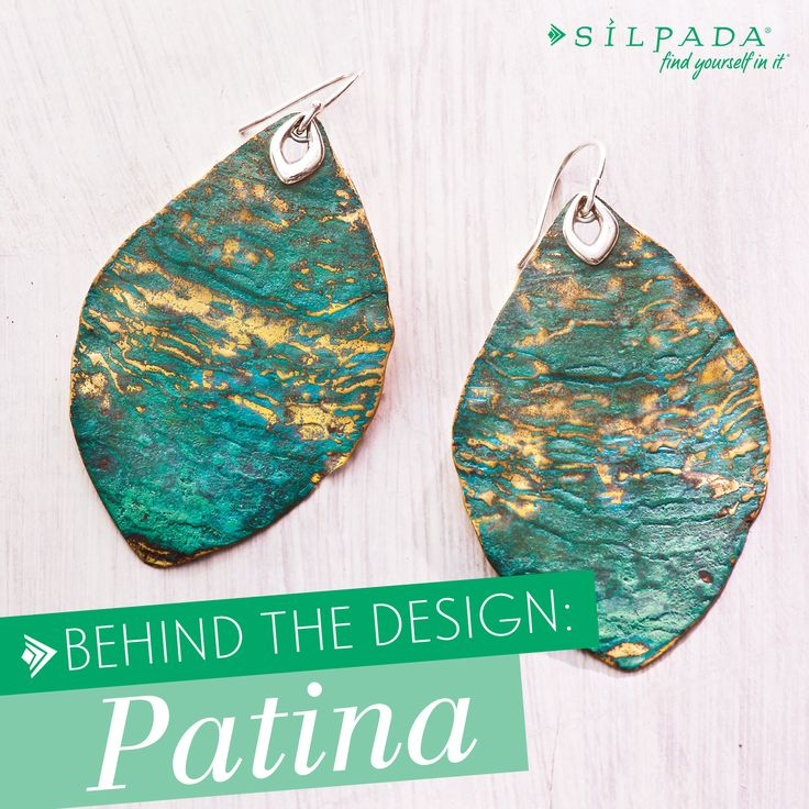 TREND ALERT: #Patina! As one of just a few companies nationwide to exclusively offer Patina jewelry, we're excited to dish the deets of Patina design! | Silpada Blog #WomensFashion: Cayman Earrings, Jewelry Designs, Jewelry Design S, Blog Womensfashion, Patina Design, Designs Jewelry