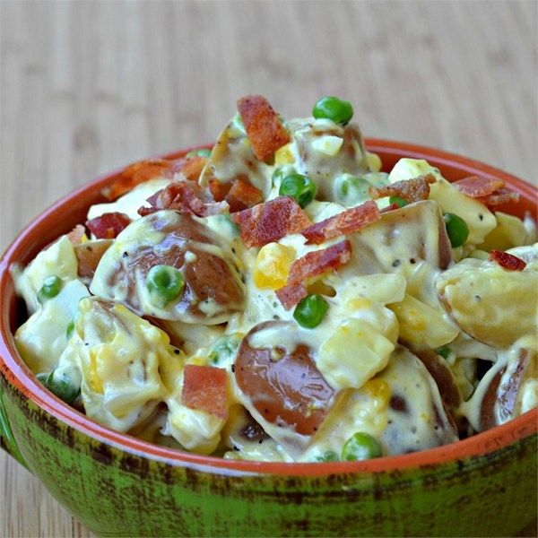 "Bacon and Eggs Potato Salad I ""This was incredibly good! Perfect just as it is."""