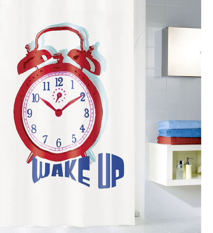 Zasłona Wake Up Multicolor 180x200