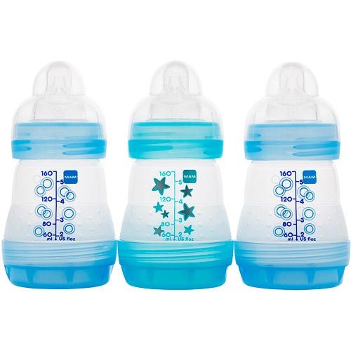 MAM - Boys' 5-oz. Bottles, 3-Pack, BPA FreeMam Bottle, Anticol Bottle, Pack 5Oz, Bpa Free, Free Bottle, Mam Baby, Bottle Pack, Baby Stuff, Baby Bottle