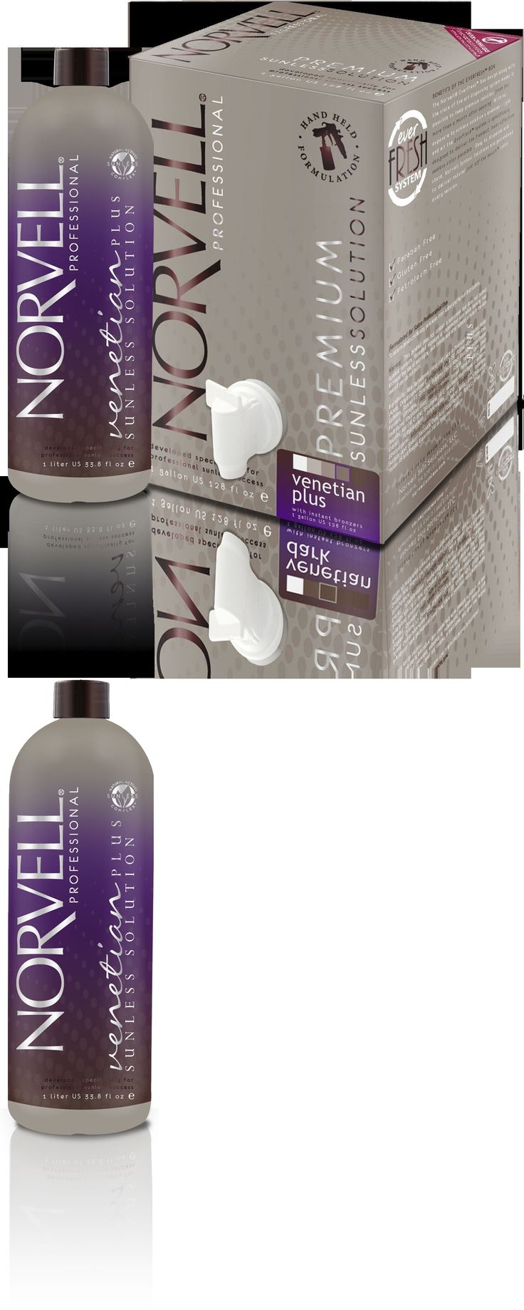 Sunless Tanning Products: Norvell Premium Spray Tanning Solution Venetian Plus Sunless Airbrush (34Oz) -> BUY IT NOW ONLY: $58 on eBay!