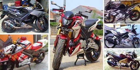 Modifikasi Motor New Yamaha Vixion Diakhir Tahun 2014
