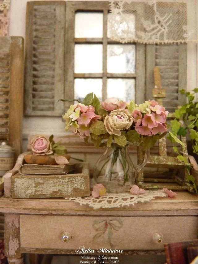 2313 best images about shabby chic decorating ideas on for Shabby chic cottage decor