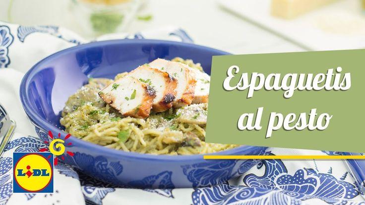 Espaguetis al Pesto con Pollo Braseado - Recetas Hoy Cocinamos