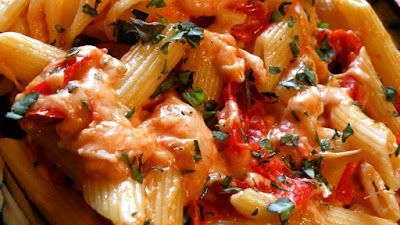 Recipes Good Food: Tomato Basil Penne Pasta