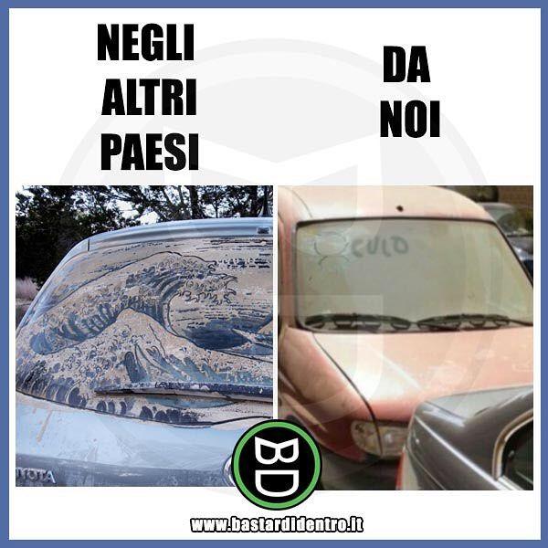 Mondo Vs Italia #bastardidentro #perfettamentebastardidentro #auto www.bastardidentro.it