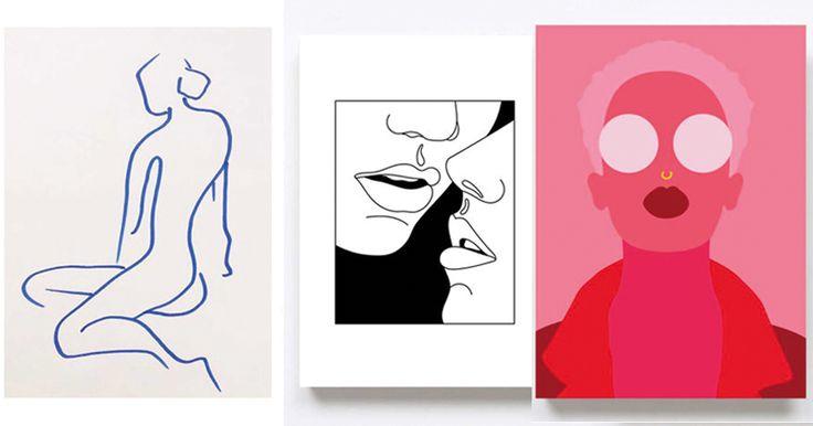 Letar du efter något snyggt att hänga på väggarna? Något som inte finns hemma hos alla dina vänner? Vi har listat nio kvinnliga konstnärer vars posters sticker ut ur mängden.
