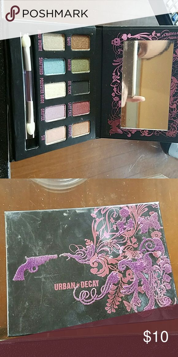 Urban Decay Ammo Pallette Urban Decay Ammo Pallette with 8 shades. Has been swatched but not used. Has been sterilized. Urban Decay Makeup Eyeshadow