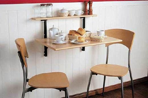 Comedor con muebles de madera casa comedores peque os - Muebles para comedor pequeno ...