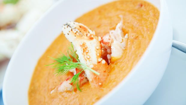 Creamy Four-Cheese Blue Crab Soup