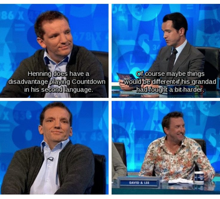 Resident German, Henning Wehn, on 8 out of 10 cats does countdown