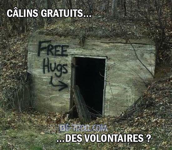 """""""Câlins gratuits... des volontaires ?"""""""