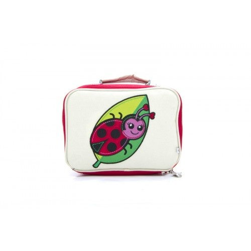 Woddlers My Little Lady Bug Lunchbox available at As Your Child Grows - asyourchildgrows.com.au