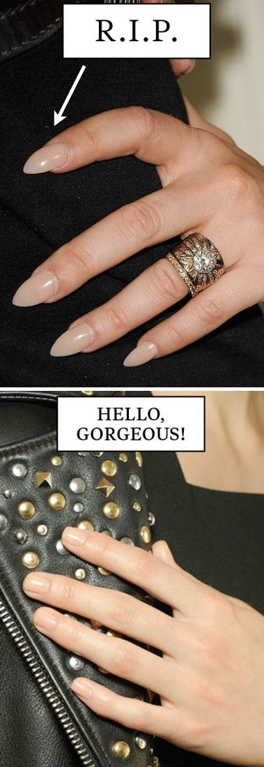 #6. Sporting long, flashy fingernails | 20 Beauty Mistakes You Didn't Know You Were Making