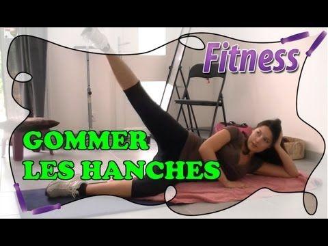 Fitness Routine à la maison: Spécial culotte de cheval, les hanches - YouTube