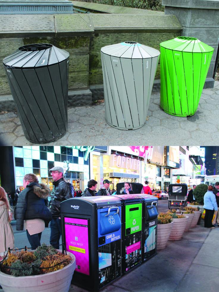 Interesting Trash Cans