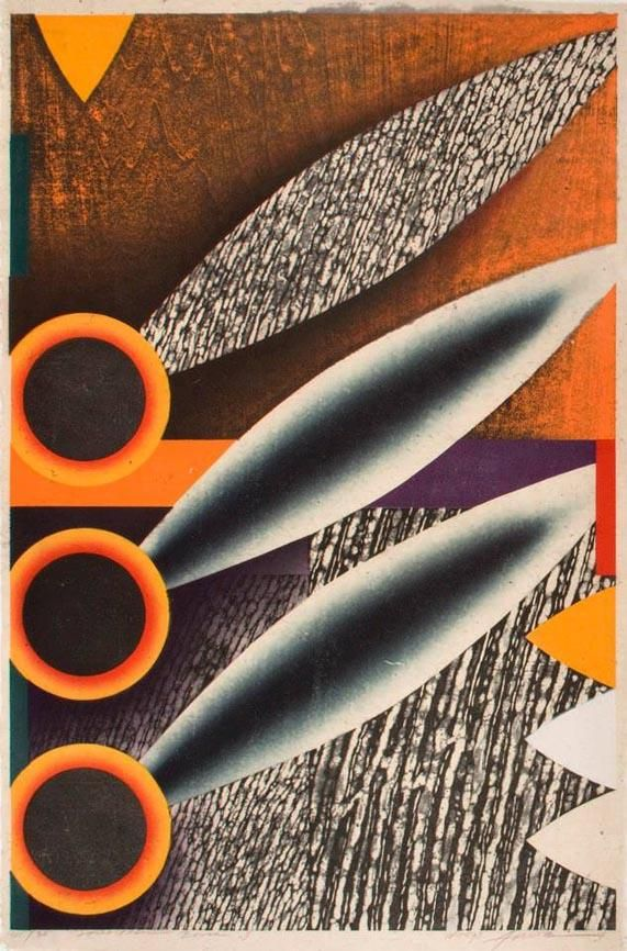 Akira Kurosaki's Woodcuts