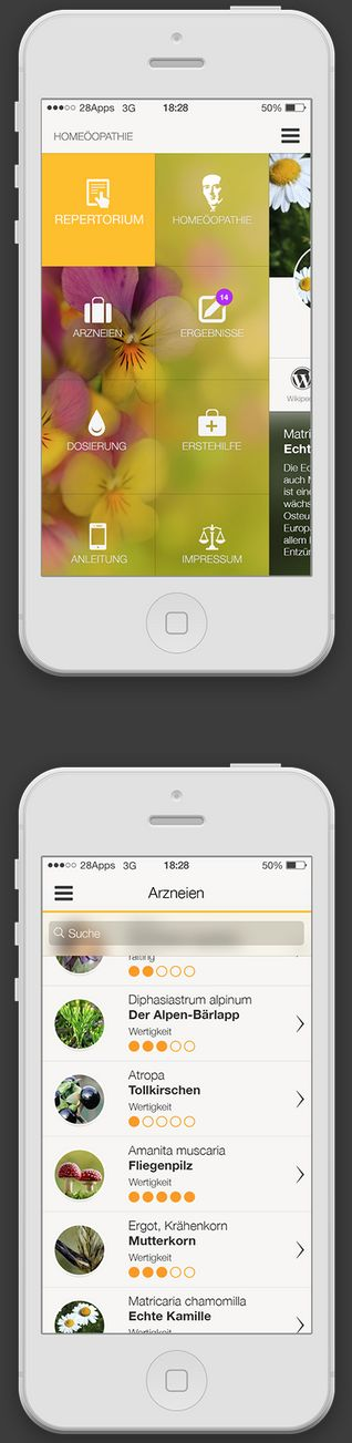 16 drop-dead gorgeous examples of mobile design inspiration | Econsultancy